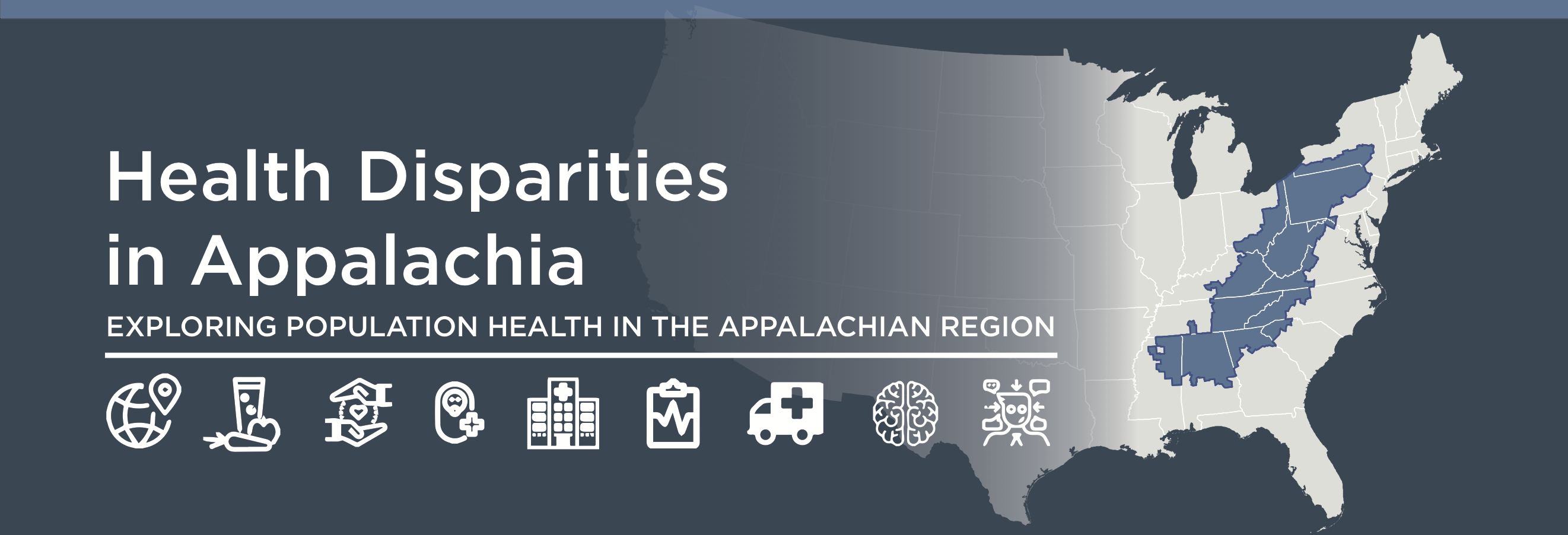Health Disparities in Appalachia Banner