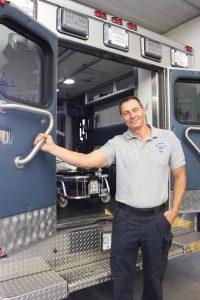 Jimmy Barnett, coordinator, McCreary County EMS