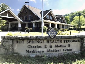 The Hot Springs Health Program building