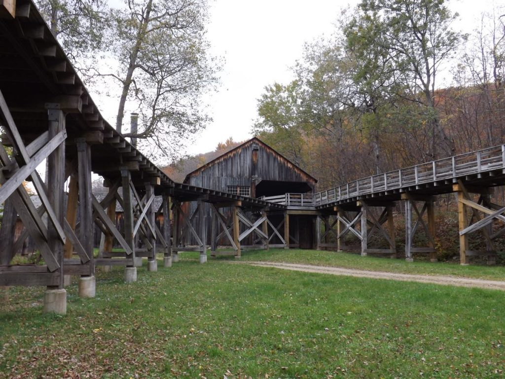 The Pennsylvania Lumber Museum, in Ulysses, is one of Potter County's tourist attractions.